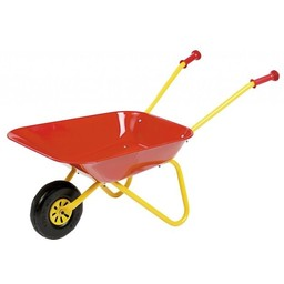 Rolly Toys Red Metal Wheelbarrow