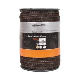 Gallagher PowerLine tape 40 mm - Terra   200 m
