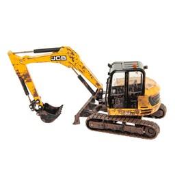 Britains Muddy JCB midi excavator 1:32