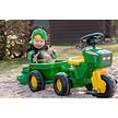 Rolly Toys John Deere Trac + trailer + sound steering wheel