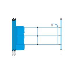 Wild Boar Netting 65 cm | 50 m Single Pin - Blue