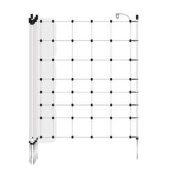 EuroNetz Turbo Netting 90 cm   50 m Single Pin - White