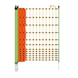 Poultry Netting 112 cm | 50 m Single Pin - Orange