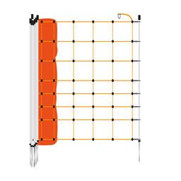 EuroNetz Sheep Netting 90 cm | 50 m Single Pin - Orange