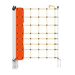 EuroNetz Sheep Netting 90 cm   50 m Double Pin - Orange