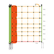 Sheep Netting Reinforced 90 cm   50 m Double Pin - Orange