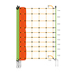 Gallagher EuroNetz Wolf netting - Orange | 120/2W14/G-50 m