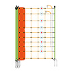 EuroNetz Wolf netting - orange 120/2W14/G-pos/neg-50m