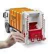 MAN TGS garbage truck (orange) 1:16