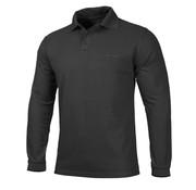Pentagon Polo Shirt 2.0 Long Sleeve (Black)