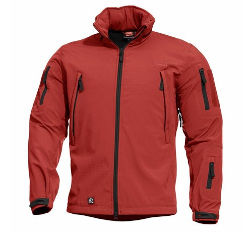 fb0fcfd7adc609 Artaxes Softshell Jacket (Red) - BETACTICAL