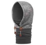 Buff Polar Thermal Hoodie Melange Grey