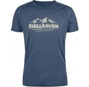 Fjällräven Abisko Trail T-Shirt Print (Uncle Blue)