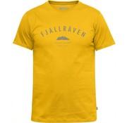 Fjällräven Trekking Equipment T-Shirt (Warm Yellow)