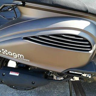 AGM AGM Supreme 4-takt  Euro4 mat titanium