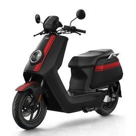 NIU NQi-GT (N-GT) motorscooter zwart rood