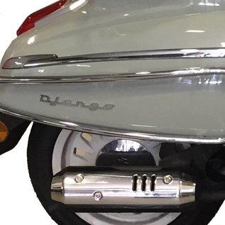 Peugeot Achtervalbeugels chroom Peugeot Django origineel