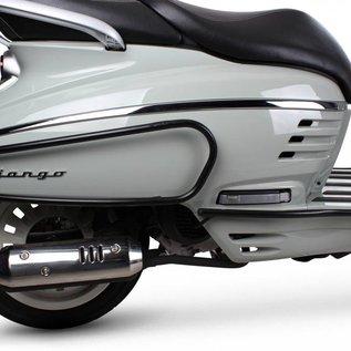Peugeot Achtervalbeugels zwart Peugeot Django origineel