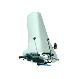 Hoog windscherm transparant Piaggio Zip imitatie