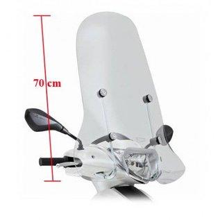 Piaggio Hoog windscherm transparant Piaggio New Fly origineel