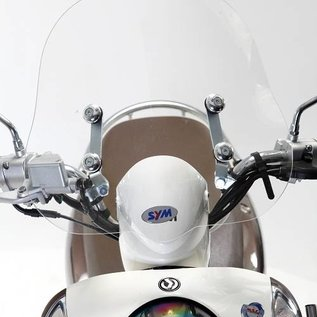 SYM Laag windscherm 40cm transparant SYM Mio origineel