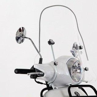 SYM Medium windscherm 35cm transparant SYM Fiddle II origineel
