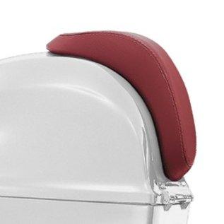 Rugsteun topkoffer rood Vespa Primavera/Sprint origineel