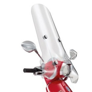 Hoog windscherm transparant Vespa Sprint imitatie