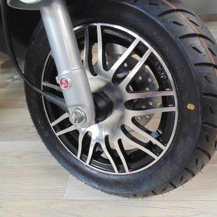 Sportvelgen matzwart / aluminium Piaggio Zip
