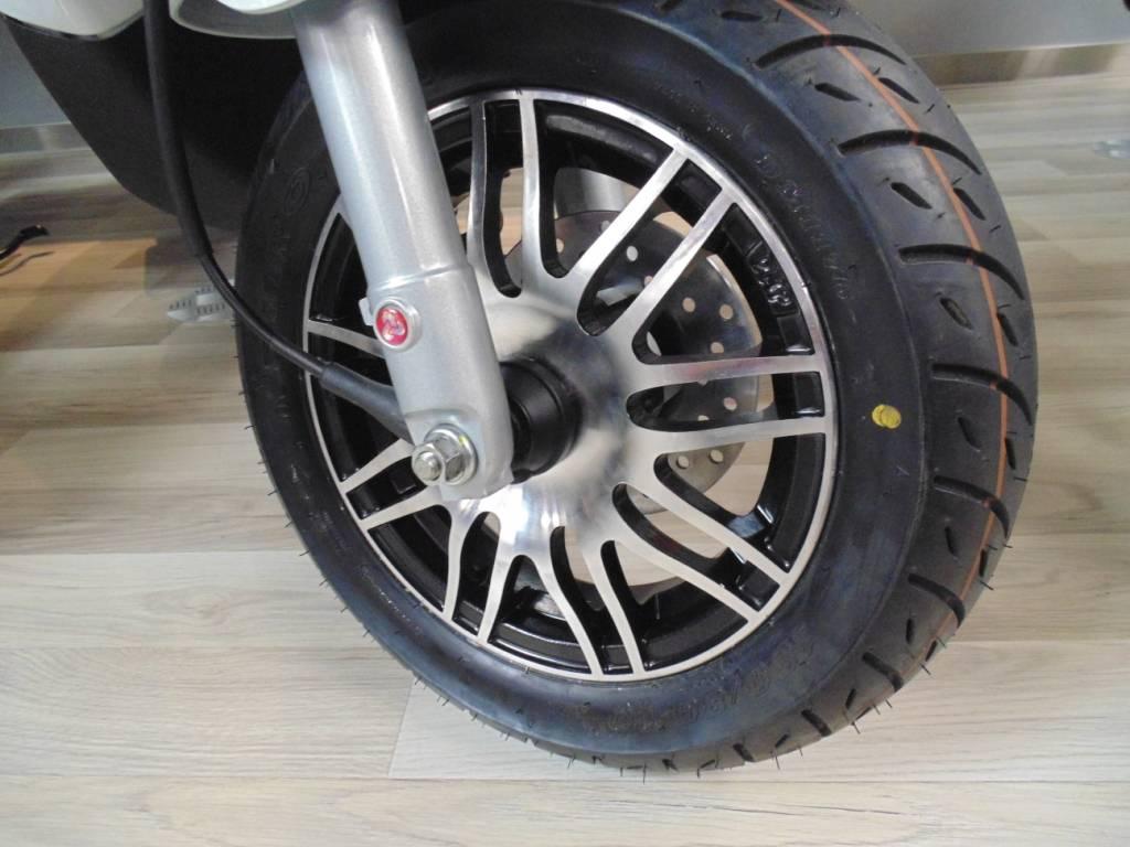 Sportvelgen Set Matzwart Aluminium Piaggio Zip 4 Takt Scootfix Scootersnl