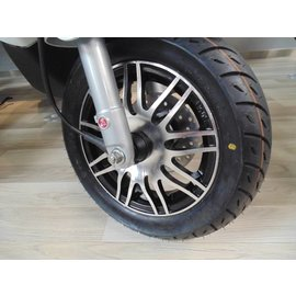 Piaggio Sportvelgen zwart glans / aluminium Zip