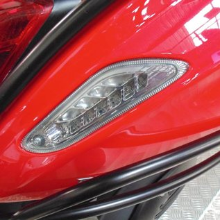 richtingaanwijzers achter LED smoke Vespa Primavera/Sprint