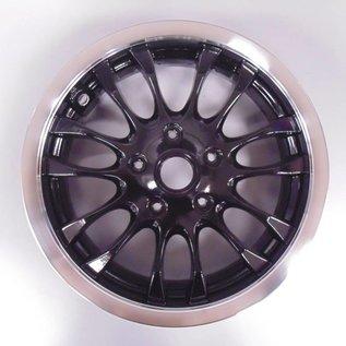 Voorvelg zwart glans Vespa Primavera/Sprint. Origineel Vespa accessoire.