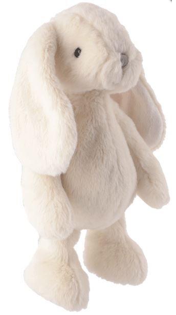 Knuffels van Bukowski Design Zweden Konijn Sweet Kanini wit 25cm