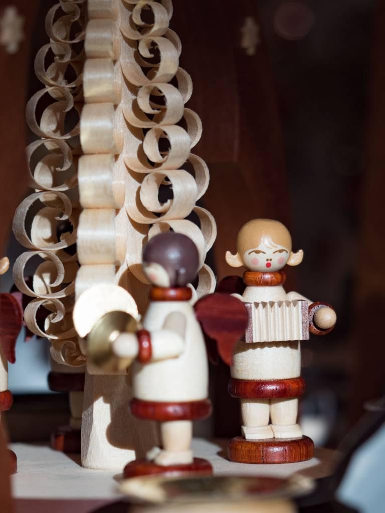 Erstgebergte Seiffener houten decoratie - Volkskunst Ertzgebirge Duitsland