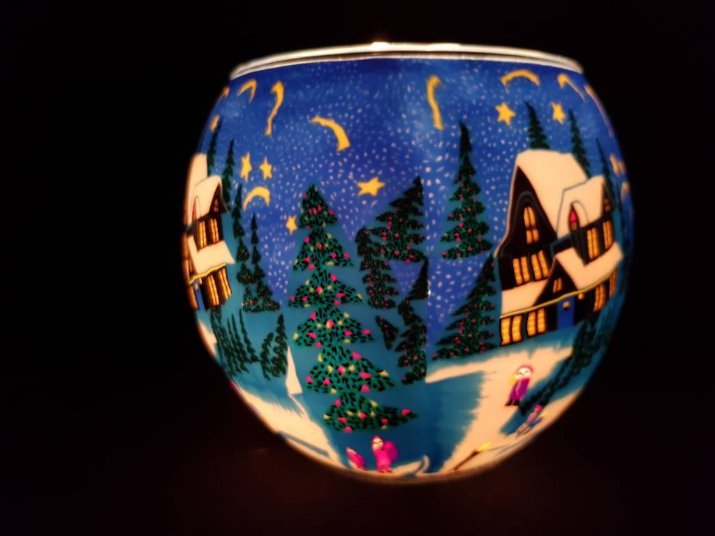 Leuchtglas Leuchtglas Stille Nacht