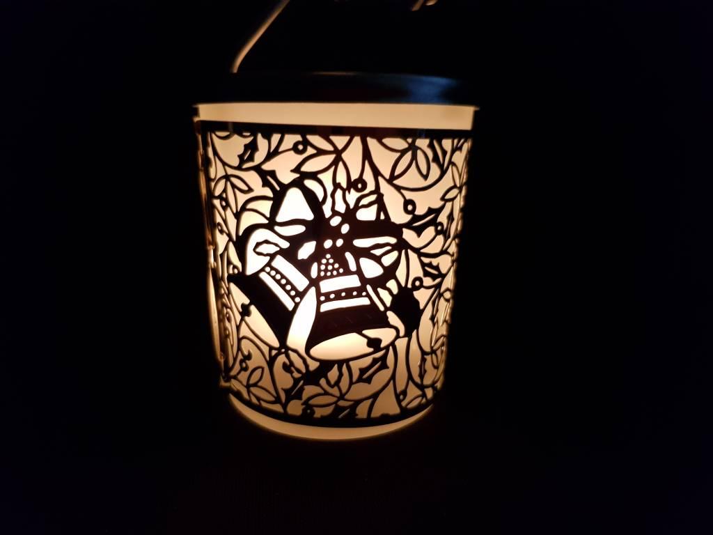 Windlicht Carrousel Windlicht Karussel Rentier Silber