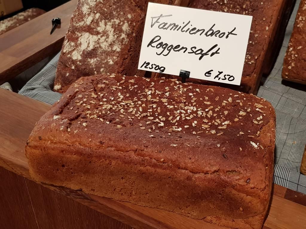 Steinofenbäckerei Familienbrot Roggensaft