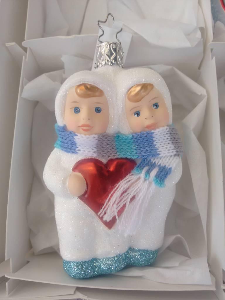 Inge Glas Sneeuwvlokje Tweeling van Inge Glas