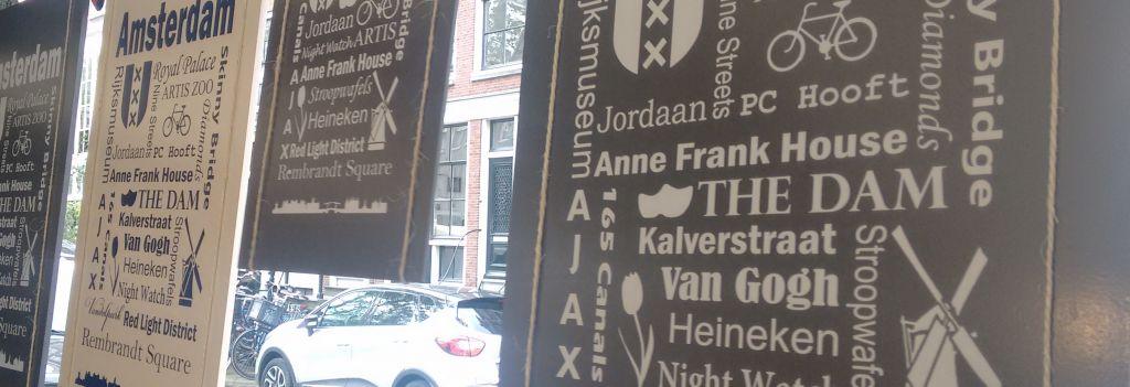 Schild Amsterdam Zugabe