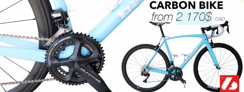 Carbon road bikes