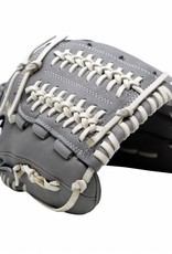 """FL-120 high quality, leather baseball glove, infield/outfield / pitcher 12"""", light grey"""