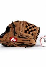 GBSL-3 Baseball set glove and ball, senior, leather (SL-110, LL-1)