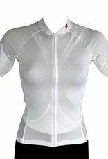 Bike textile - short sleeve Jersey, white