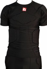 FS-09 compression T-shirt with long sleeves, 5 integrated pieces, for American football