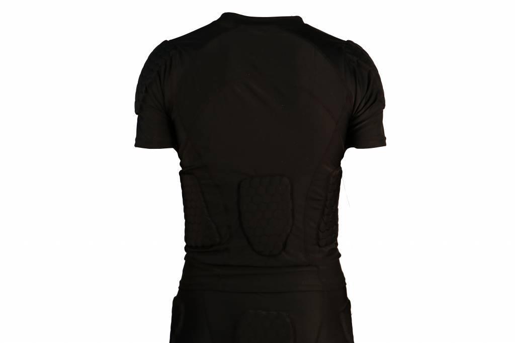 FS-09 T-shirt manches courtes de compression, 4 pièces intégrées, football américain