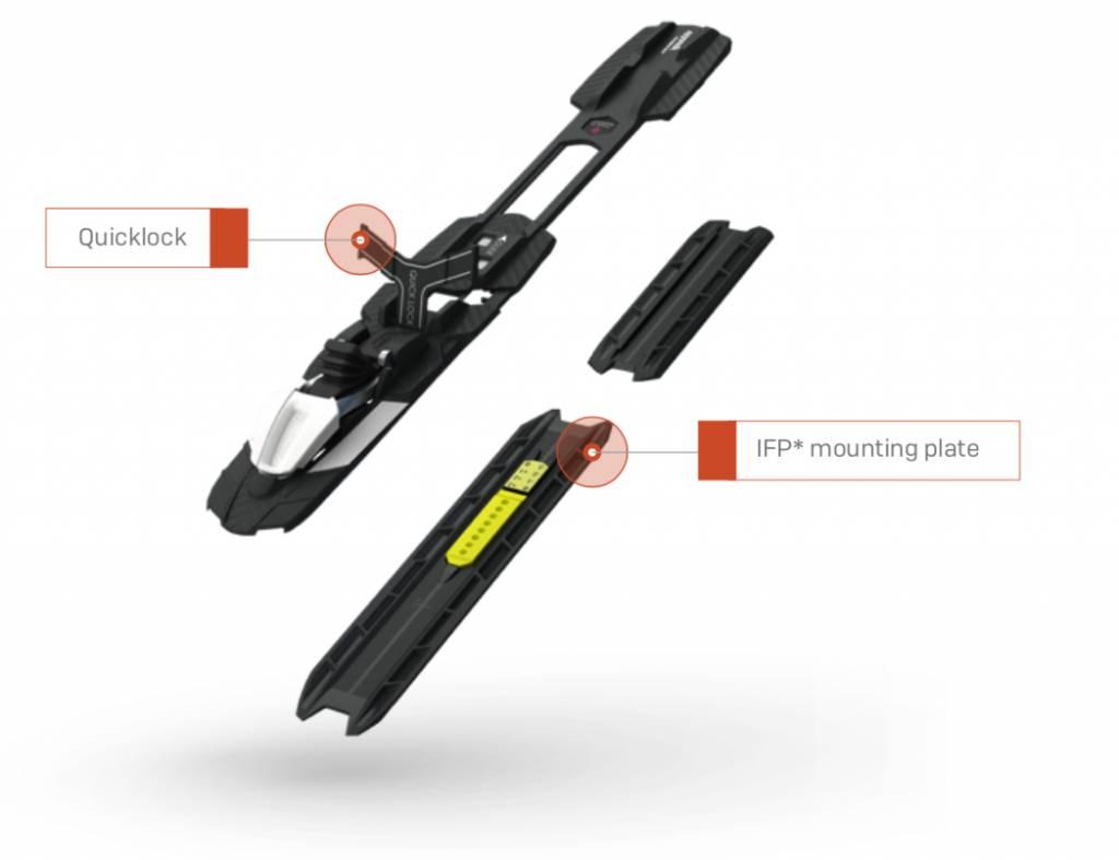 Rottefella Rottefella Fixations Rottefella NNN skate Quicklock pour IFP* (X2)