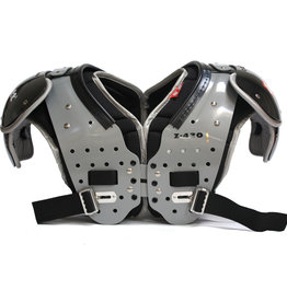 Z-430 I Elite light football shoulder pad, black