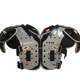 Z-430 II Elite light football shoulder pad, black HB-FB-LB-TE-DL