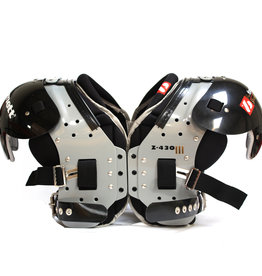 Z-430 III Elite light football shoulder pad, black